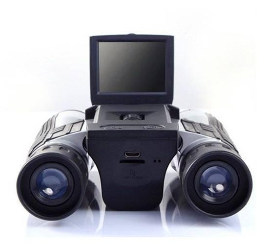 "Digitala kikare med 2"" LCD och microSD, 12x optisk zoom, 36-108mm, 1080P thumbnail"