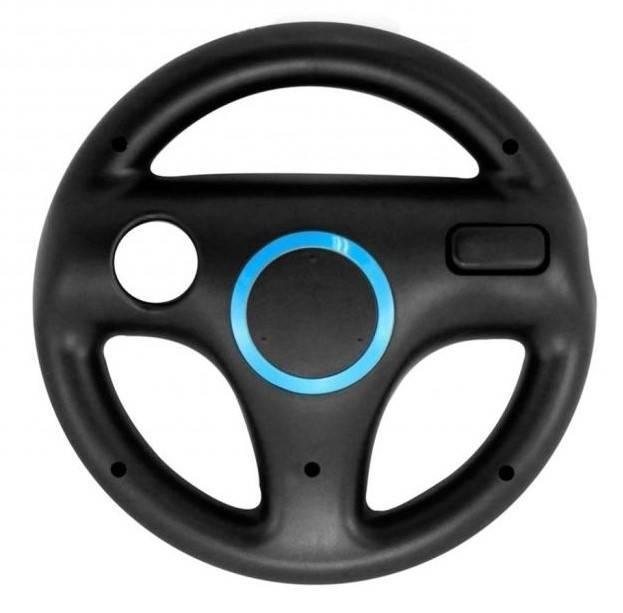 Nintendo Wii Ratt - Racing, Svart och Blå