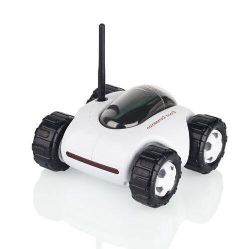 Mobilstyrd RC-Bil med inbyggd kamera och mikrofon/högtalare thumbnail