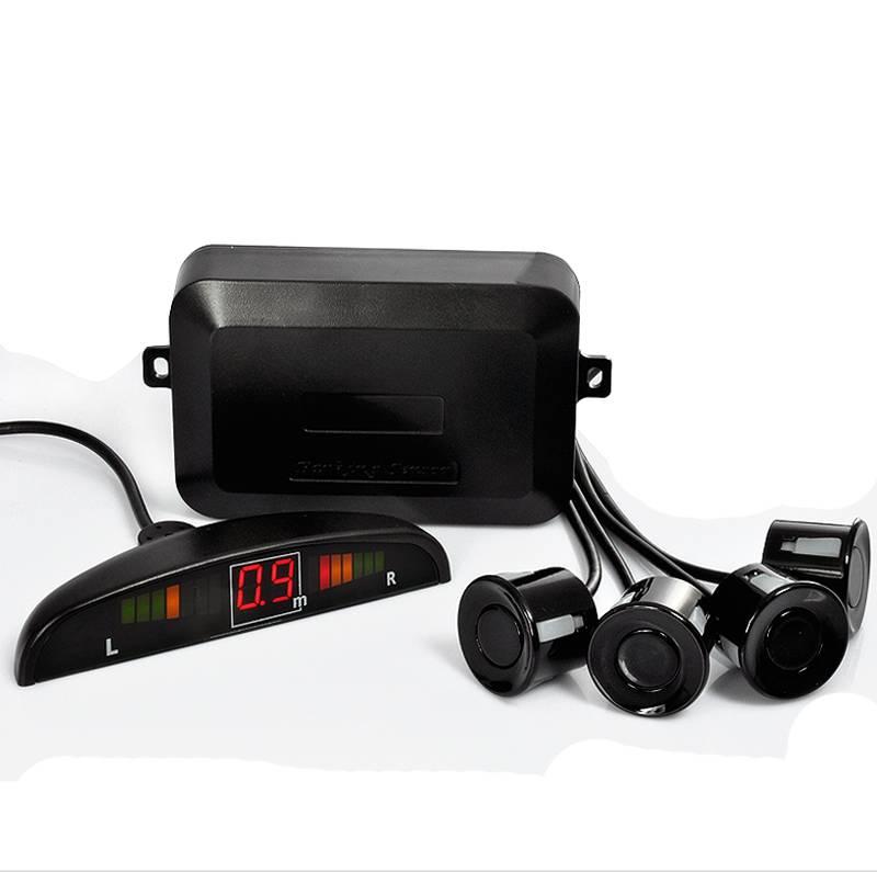 Backsensor-kit med fyra ultraljuds-sensorer och LED-display