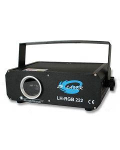 500mW RGB Laser-projektor, DMX, animerad grafik, inkl. grafikprogramvara och 649 animationer/effekter