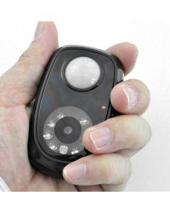 Rörelsedetektor med dold kamera och mörkerseende / nightvision