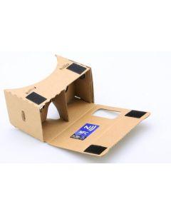 3D-glasögon, VR-headset av kartong för iPhone och Android enheter