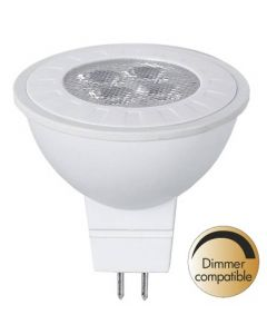 Dimmerkompatibel LED Spotlight, Räfflad, GU5.3, 2700K, 350lm, Varmvit