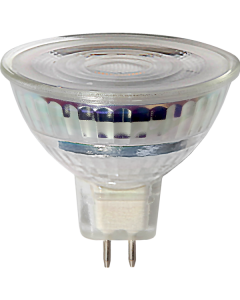 LED-Lampa GU5,3 MR16 Spotlight Glass