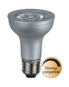 LED-Lampa E27 PAR20 Dim To Warm