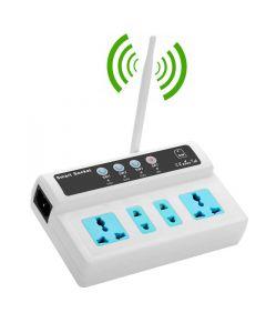 4 Port GSM Smart Switch - Homeplug