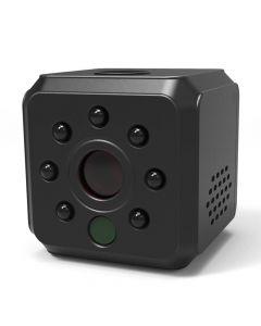 FullHD spionkamera, IR-nightvision, PIR-rörelsedetektion, röst-detektion, 120°, loop-recording