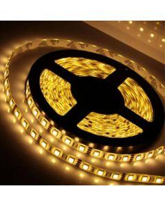 LED-List 5m, 60 LED/m - Varmvit, Vattentät