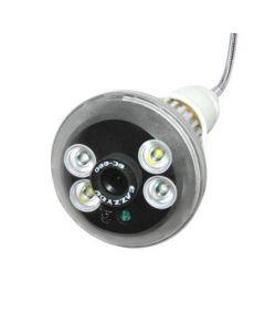 Spionlampa med rörelseaktiverad inspelning, rörelsesensor, MicroSD