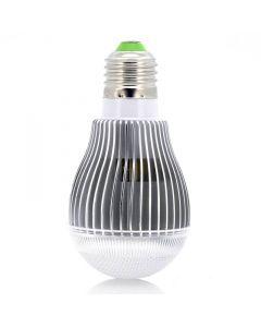9W RGB LED-lampa med fjärrkontroll