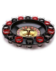 Roulette Dryckes Set