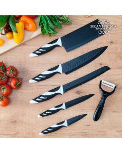 Knivar Top Chef Black C01024 (6 st)