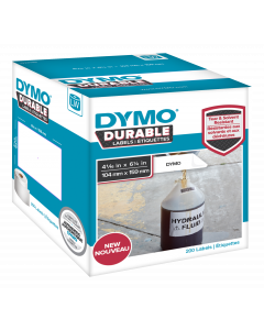 DYMO LW Durable extra-large shipping 104mm x 159mm, 200 etiketter