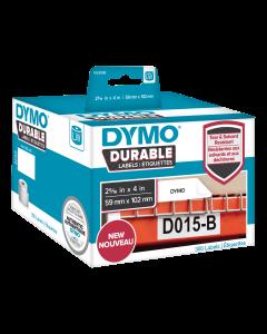 DYMO LW Durable shipping label 59mm x 102mm, 300 etiketter, vit