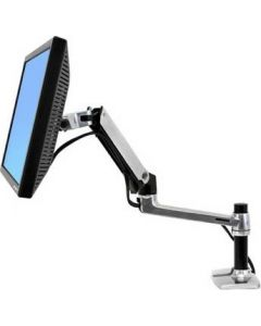 Ergotron LX monitorarm för LCD/TFT-monitor, silver/sva, bordsmonterin