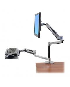 Ergotron WorkFit -LX Desk Mount, polished