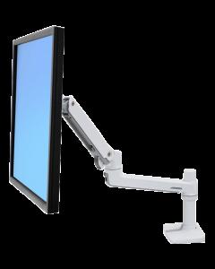 Ergotron LX monitorarm för LCD/TFT-monitor, vit, bord