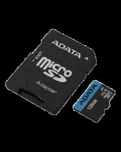 ADATA 128GB MicroSDXC UHS-I Class 10 A1 w/SD Adapter