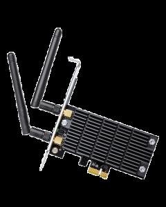 TP-Link Archer T6E, trådlöst PCI-E nätverkskort, 802.11ac, 2,4/5GHz