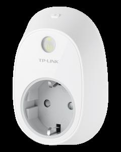TP-Link HS100, fjärrstyrd strömbrytare Wi-Fi, CEE 7/4, vit