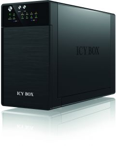 ICY BOX externt RAID-kabinett för 2x3,5