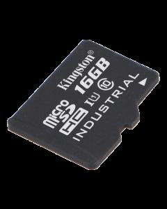 Kingston 16GB microSDHC UHS-I Industrial Temp Card Single P w/o Adapte