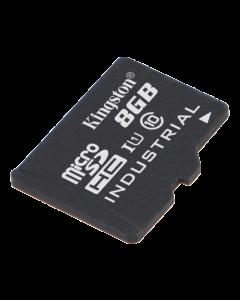 Kingston 8GB microSDHC UHS-I Industrial Temp Card Single P w/o Adapter