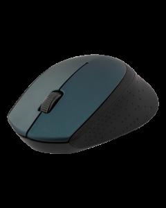 DELTACO trådlös optisk mus 2,4GHz, 3 knappar med scroll, 1200 DPI,grön