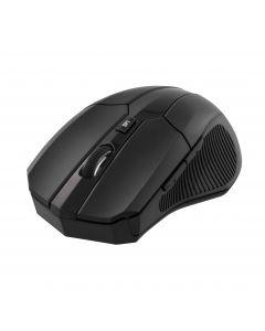 DELTACO trådlös optisk mus, 5 knappar med scroll, DPI-val, USB, svar