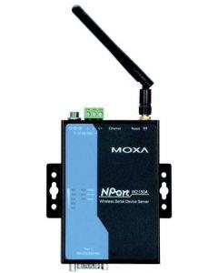 Moxa trådlös NPort serieportsserver, 1xRS-232/422/485, 802.11a/b/g