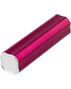 STREETZ Powerbank, 2600mAh, USB 5V 1A, röd