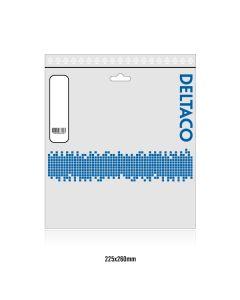 DELTACO U/FTP Cat6a patchkabel, LSZH, 5m, vit