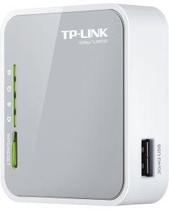 TP-LINK trådlös 3G-router, 802.11n, 150Mbps, USB, RJ45