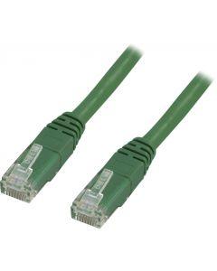 DELTACO U/UTP Cat6 patchkabel, LSZH, 7m, grön