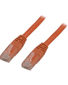 DELTACO U/UTP Cat6 patchkabel, LSZH, 7m, orange