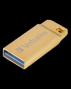 Verbatim Store 'n' Go Metal Executive Gold USB 3.0 Drive 64GB