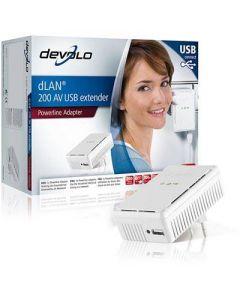 Devolo dLan Homeplug-kit för USB, 200mbps