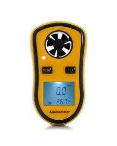Digital anemometer, mäter vindhastighet och temperatur