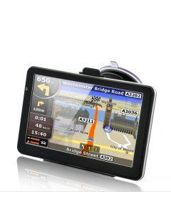 Gps 7 tums HD display med touchscreen och röststyrning