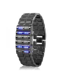 LED Klocka som visar tiden binärt