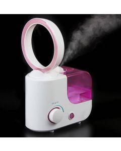Ultraljudsluftfuktare med luftrening - utan blad