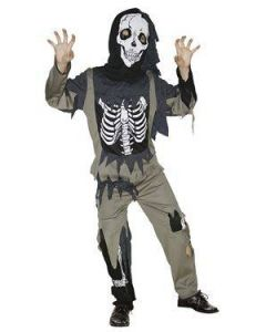 Maskeraddräkt Zombie Kid 122-130