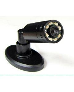 Miniövervakningskamera för dag och natt, med roterande fot och IR
