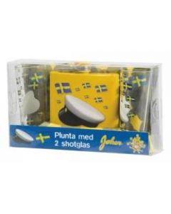 Pluntset M Shotglas