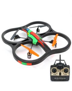Stor Quadcopter med 6-axlars gyroskop, fjärrkontroll med 100 m räckvidd