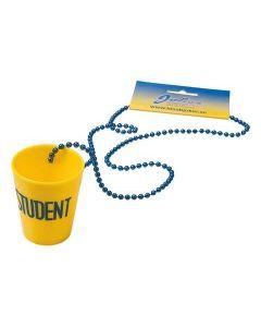 Studentshotglas med snöre