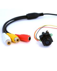 Superliten mini-övervakningskamera 170 graders synfält, vidvinkel & mic