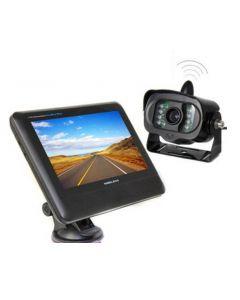Trådlös backkamera med 7 tums TFT-LCD skärm