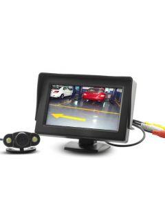 Trådlös parkeringsmonitor / backkamera med bakåtsikt